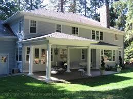 modern porch house plans with back porches aloin info aloin info