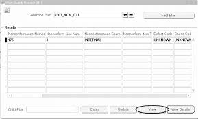 non conformance report template oracle quality implementation guide