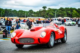 ferrari classic the le mans ferraris at chantilly u2013 le mans classic 2018