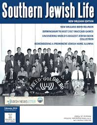 sjl new orleans february 2016 by southern jewish life issuu