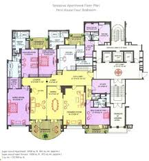 four bedroom house floor plans ambience caitriona in sector 24 gurgaon price location map