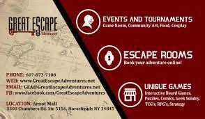 Business Card Racks Escape Rooms U2013 Book Now U2013 Great Escape Adventures