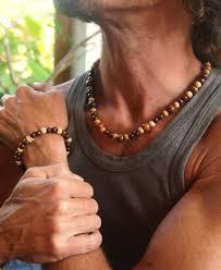 bead necklace bracelet images 11 best wooden necklace images wood necklace jpg