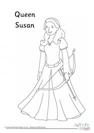 narnia colouring pages
