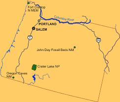 Oregon national parks images Oregon national and state parks travel around usa gif
