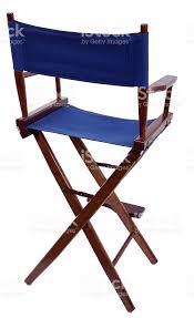 siege metteur en blue siège de metteur en scène pour industrie sur fond