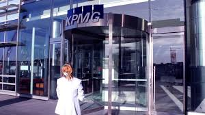 a funny video about someone pretending to want to work a kpmg she