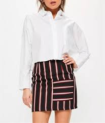 tight skirts mini skirt models tight striped pattern skirts hss2943