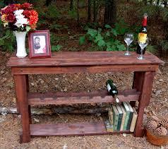reclaimed wood wine rack table by looneybintradingco on etsy