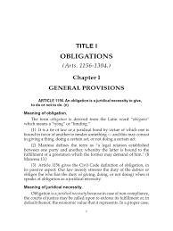 General Power Of Attorney Philippines by De Leon Obligation And Contracts Law Of Obligations Letter