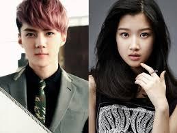 Para Pemain Film Exo Next Door | sehun dan moon gayoung dipasangkan di drama exo next door