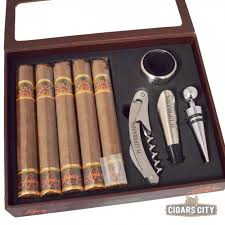 cigar gift set h upmann legacy wine gift set