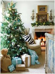 decorations traditional tree and mantel decoration