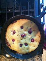 house of skip paleo pineapple upside down cake in a cast iron
