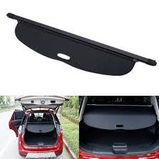 nissan rogue rear bumper car retractable rear trunk shade cargo cover fit for nissan rogue