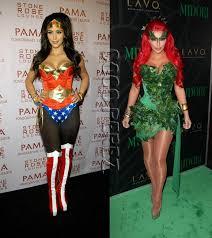 Sexiest Halloween Costumes Kim Kardashian U0027s Sexiest Halloween Costumes