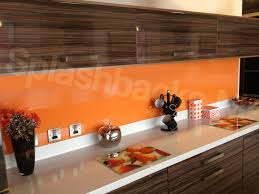 light orange m acrylic kitchen splashback splash idolza