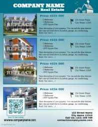 real estate listing template real estate flyer templates postermywall