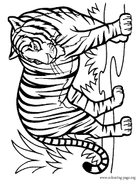 coloring page tigers 28 tiger coloring pages wild and majestic animals