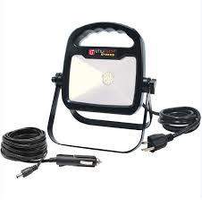 utilitech pro led security light utilitech pro 1 white light 10 watt led portable work flood light