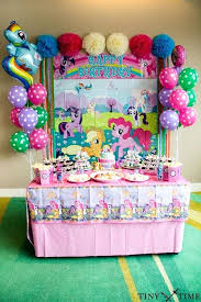 my pony centerpieces birthday party table how to decorate birthday party table birthday