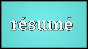 Hindi Meaning Of Resume