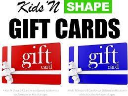 gift cards for kids kids n shape now offers gift cards for nyc parents