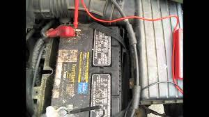 battery u0026 alternator test using a multimeter youtube
