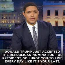 Trevor Noah Memes - funny quotes about donald trump by comedians and celebrities funny