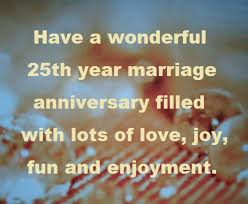 wedding wishes god bless happy 25th year wedding anniversary wishes and quotes hubpages