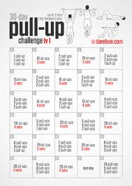 Challenge Up 30 Day Pull Up Challenge Pinteres