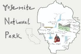 Map Of Yosemite A Fall Guide To Yosemite National Park Huckberry