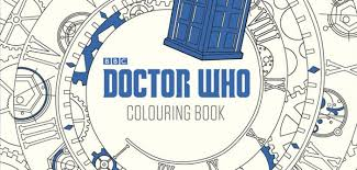 doctor colouring book released early 2016
