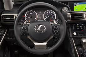 lexus steering wheel logo driving the 2014 lexus is lexus enthusiast