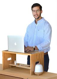 amazon com royal craft wood monitor stand with riser storage