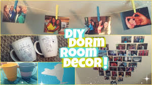 Dorm Wall Decor by Diy Dorm Room Decor Youtube