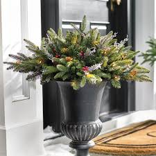 fraser cordless greenery collection grandin road