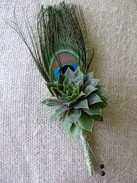 Succulent Boutonniere The 44 Best Images About Wedding Boutonniere On Pinterest