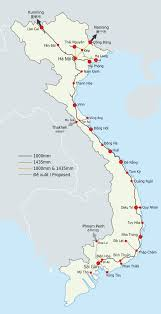 China Train Map by List Of Railway Lines In Vietnam Wikipedia
