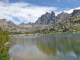 Wyoming Lakes images Bonneville lakes basin jpg
