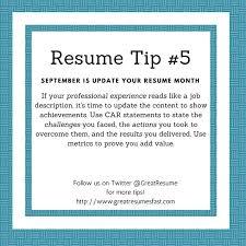 Resume Update 64 Best 2017 Resume Tips Images On Pinterest Resume Tips