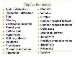 What Is Blinding In Statistics Bread And Butter Statistics Rcgp Curriculum Statement 3 Ppt