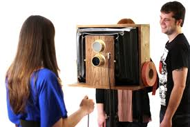 Photo Booth Camera Digital Photo Booth Looks Like A Vintage Camera Psfk