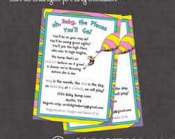 oh the places you ll go graduation gift oh the places you ll go baby shower invitations gangcraft net