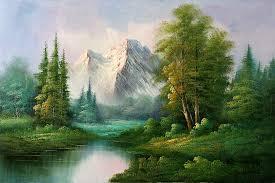 Mountain Landscape Paintings by Mountain Landscape