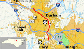 Interstate Highway Map North Carolina Highway 147 Wikipedia