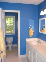 beautiful design of blue bathroom ideas wall paint color plus best