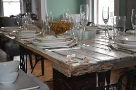 Distressed Dining Room Table by Dining Tables Distressed Dining Set With Bench How To Whitewash