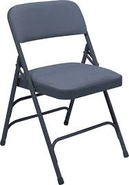 Padded Folding Chairs For Sale Amazon Com National Public Seating 2300 Series Steel Frame