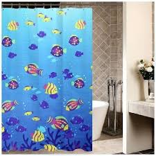 Fish Curtains Fish Shower Curtains Teawing Co